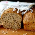 Made with 7 grains plus flax, this homemade flaxseed bread is so good! From RestlessChipotle.com
