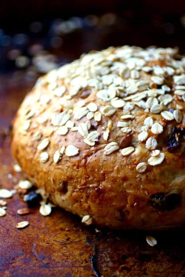 Harvest bread recipe - perfect autumn flavor! From RestlessChipotle.com