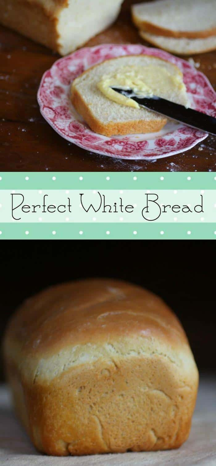 An easy white bread recipe that's just right for beginning bread bakers. Soft and fluffy. Homemade bread is SO good! If you want to learn to bake bread THIS is the recipe to start with. From RestlessChipotle.com