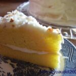 orange gold vintage cake recipe