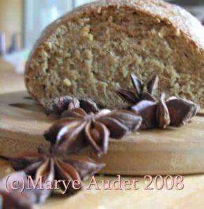 swedish rye bread cut