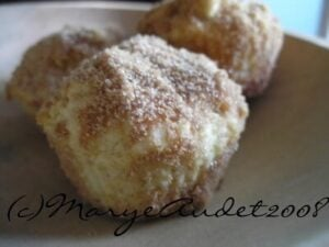 French breakfast puffs are kind of like baked donuts but lighter, and so easy! Restlesschipotle.com