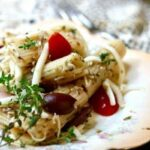 Best pasta salad recipe ever! Italian dressing, olives... plus 20 variations! From RestlessChiptole.com