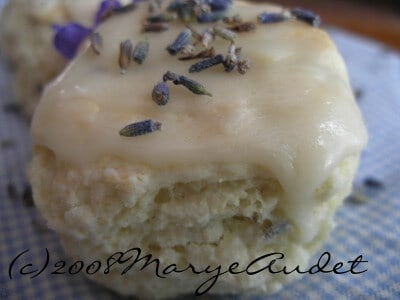 lavender and vanilla scones are perfect for a light, sweet snack -- restless chipotle.com