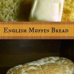 This English Muffin bread recipe has that coarse, bumpy texture with all the nooks and crannies and craters that you need to hold the melty butter and sticky honey that you are going to slather on it. Absolutely the best ...ever. From RestlessChipotle.com