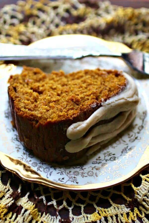 Pumpkin bundt cake recipe is so easy! From RestlessChipotle.com