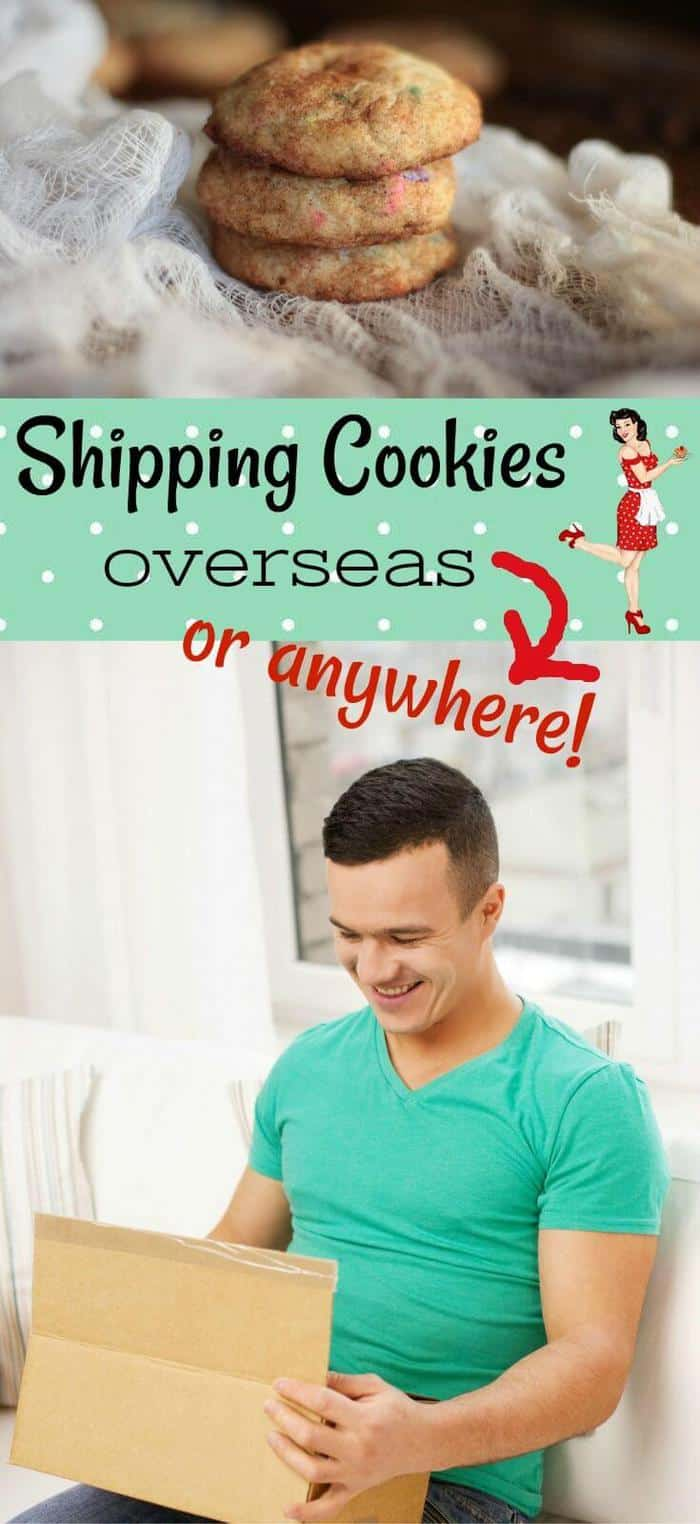 Shipping cookies is easy with these tips.They'll arrive intact and ready to eat- just follow the step by step images to get them ready for shipping overseas! RestlessChipotle.com #shippingcookies #cookies #military