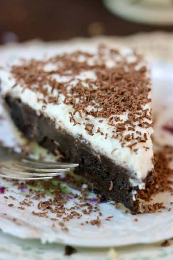 Easy French Silk Pie recipe is one of our favorites! SO good! from RestlessCHipotle.com