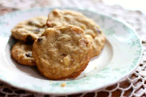 quadruple chocolate chip cookies