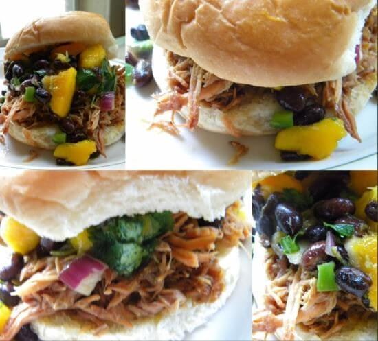 pulled pork sandwich images