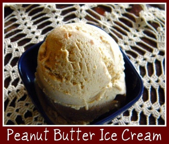 peanut butter ice cream for the peanut butter lover