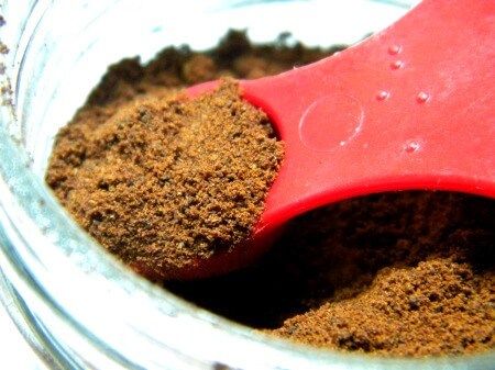spoonful of ground cloves