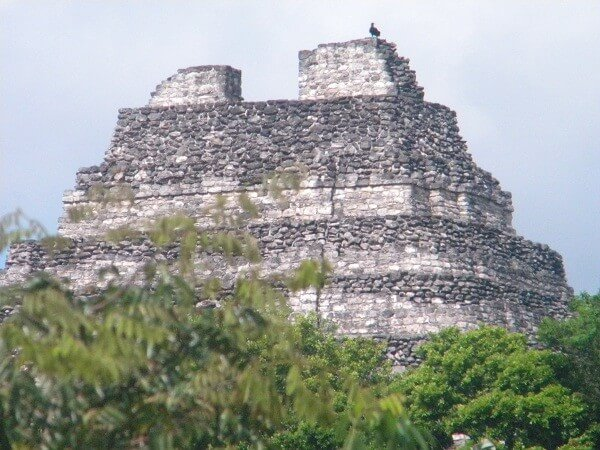 ancient mayan temple