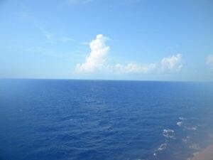 cruise, morning at sea