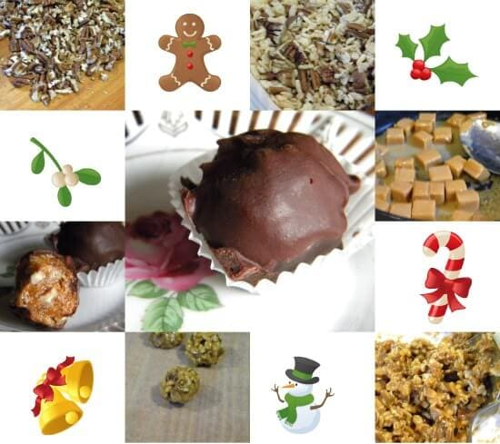 a collage of images of chocolate candy