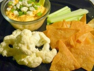 Buffalo Chicken Dip for Super Bowl Snacking