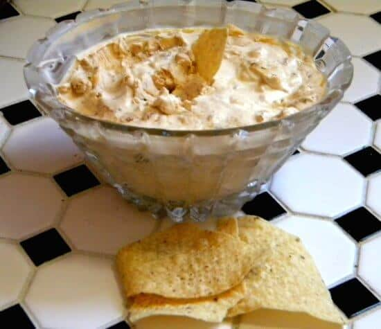This homemade onion dip is robust and tangy with caramelized onions and Greek yogurt.