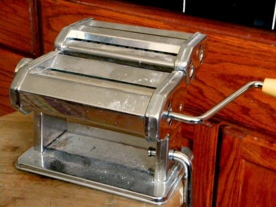 homemade pasta dough pasta maker