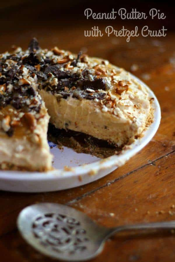 "The BEST peanut butter pie recipe ever! One reader called it the ""Big O"" pie! From RestlessChipotle.com"