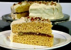 Southern Caramel Cake with Jack Daniels | Restless Chipotle