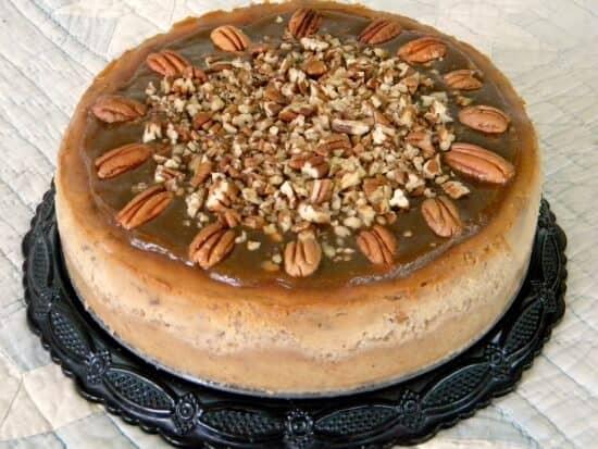 Pecan Praline Cheesecake | Restless Chipotle