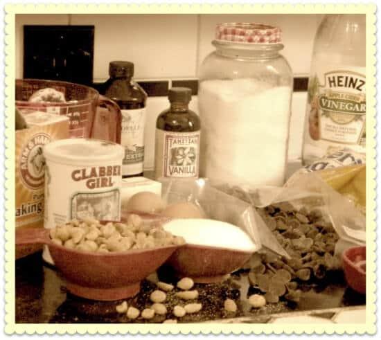 ingredients for hoosier bars