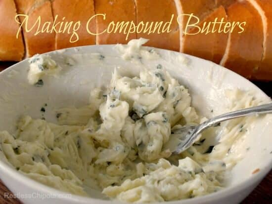 making compound butter