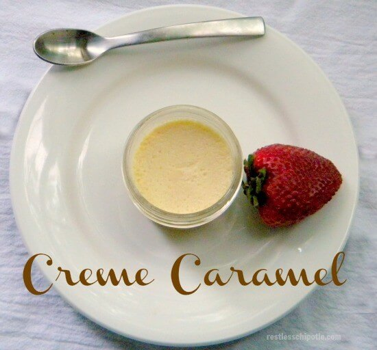... creme caramel, pots de creme, and creme brulee. The rich custard is