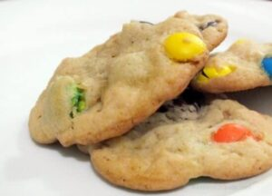 peanut butter m&ms cookies