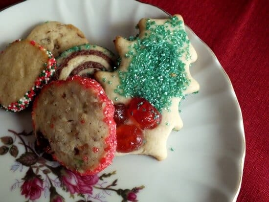 Christmas Cookies One Dough Five Kinds