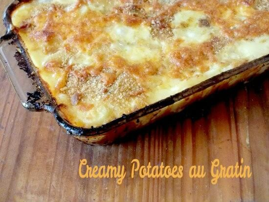 This easy creamy potatoes au gratin recipe will quickly become a ...