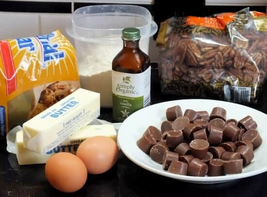 rolo blondies ingredients