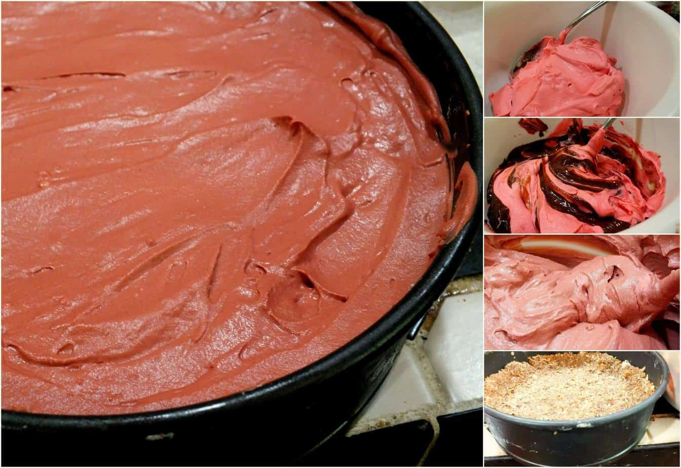 Frozen Red Velvet German Chocolate Deep Dish Pie | Restless Chipotle