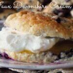 faux devonshire cream