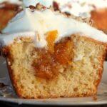 Peach cupcakes|restlesschipotle.com