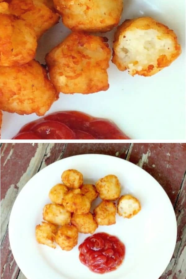 Make these easy homemade tater tots and say buh-bye to frozen tater tots from the store! Tons of variations, step by step directions and tips for perfection.