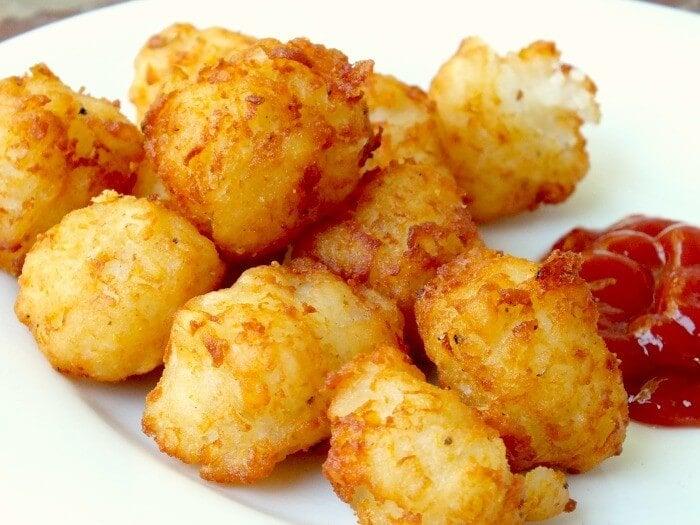 Fried Potatoes Homemade Tater Tots