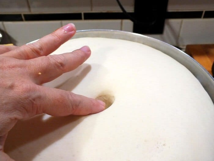 bread dough risen YEAST BREAD BAKING TIPS