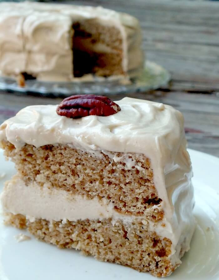 Spice Cake with Maple Cream Cheese Frosting | Restless ...
