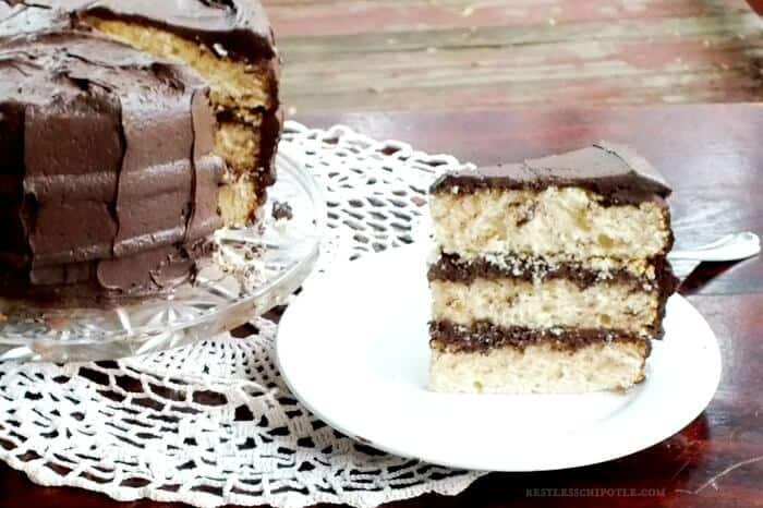 Vanilla Layer Cake With Whipped Rum-Ganache Icing Recipes — Dishmaps