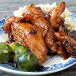 dr pepper sticky chicken