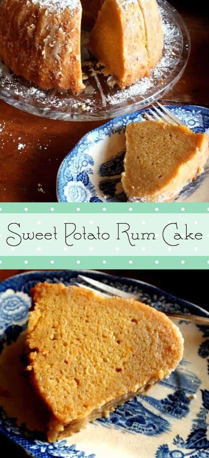 Sweet Potato Rum cake is a made from scratch recipe. Perfect for the holidays! From RestlessChipotle.com