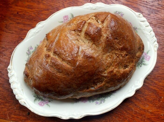 loaf of limpa bread