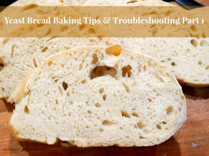 yeast bread baking tips