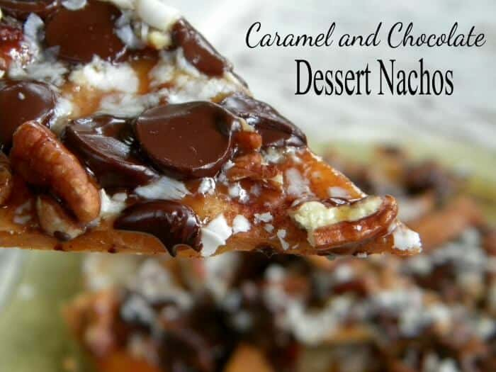 grilled dessert nachos are an easy summer dessert
