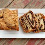 chocolate and chipotle babka sliced