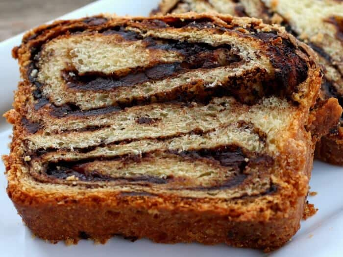when this chocolate babka is baking in the oven! I adapted this Babka ...