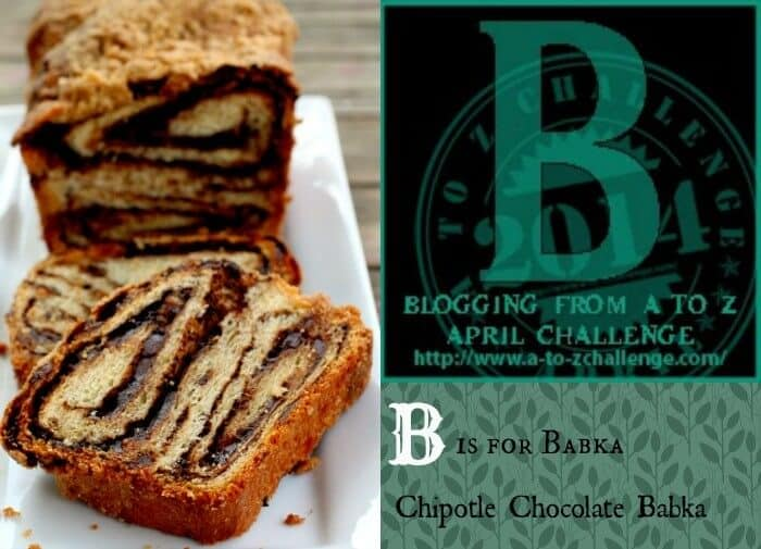 babka - chocolate and chipotle