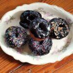 donuts on a vintage plate|restleschipotle.com