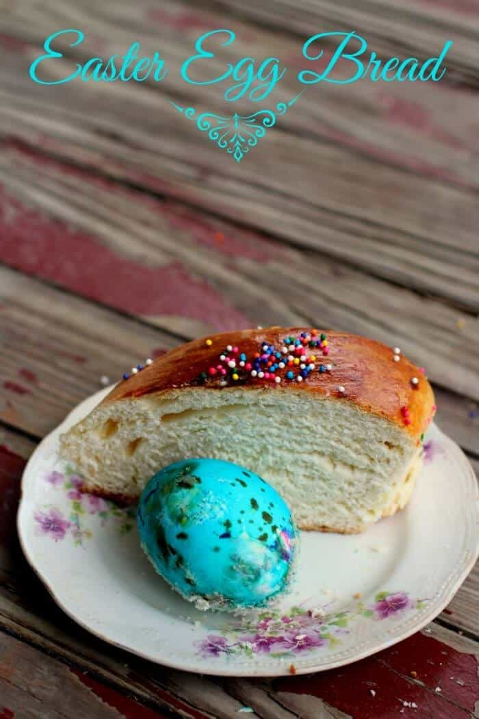 easter egg bread is slightly sweet and beautiful|restlesschipotle